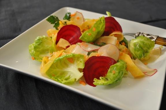 Bagna Cauda Salad - Andrea Reiser Andrea Reiser