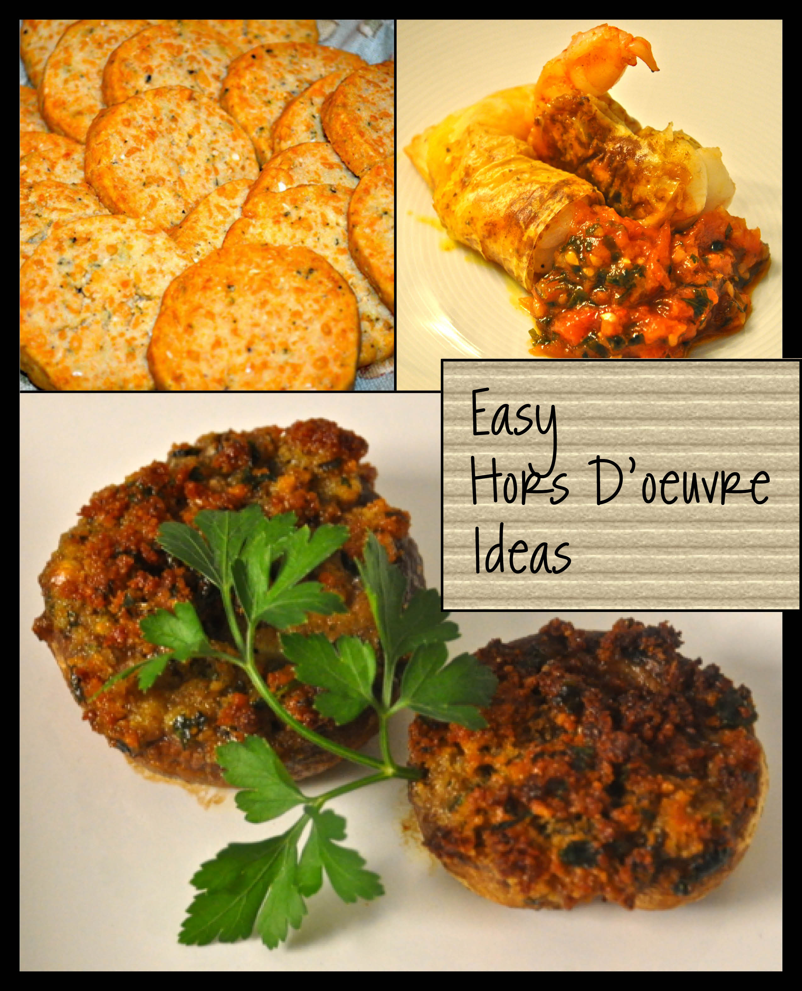 3 Mostly Easy Holiday Hors D 39 Oeuvres Andrea Reiser