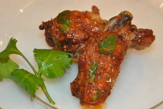 comfort food, spicy chicken wings