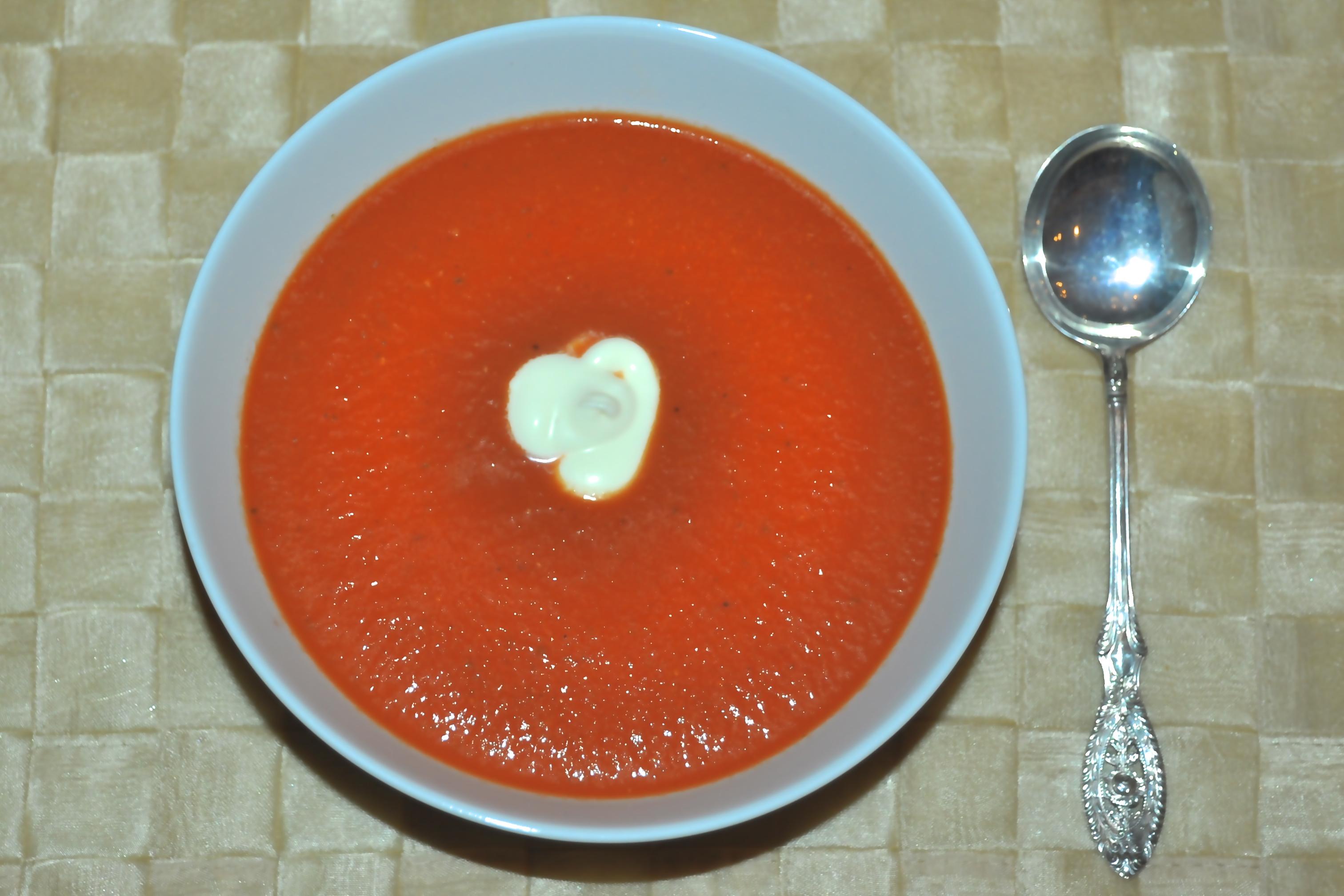 Spicy Tomato Soup Andrea Reiser