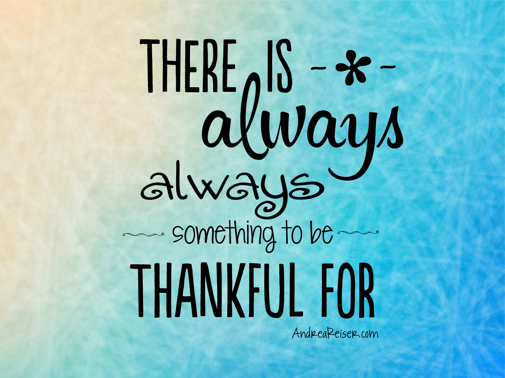 There Is Always Something To Be Thankful For on Feeling Worksheet