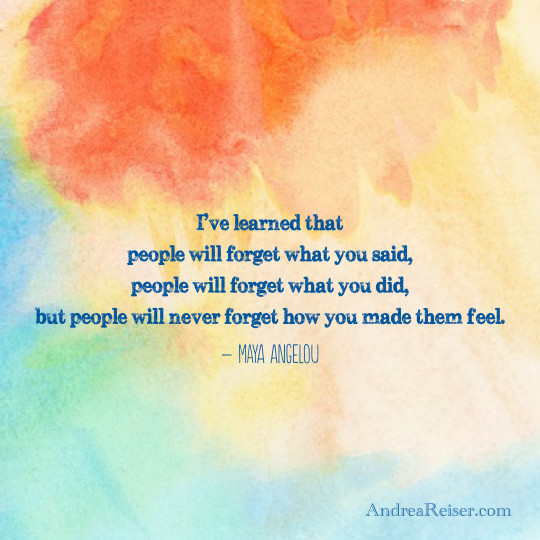 Maya Angelou Quote People Will For Get: Remembering The Words Of Maya Angelou