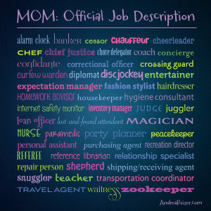 Mom Official Job Description