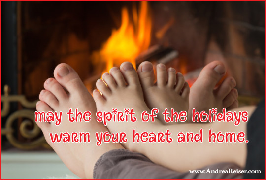May the spirit of the holidays warm your heart and home
