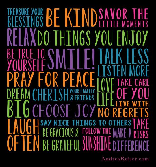 secret of happy life quotes