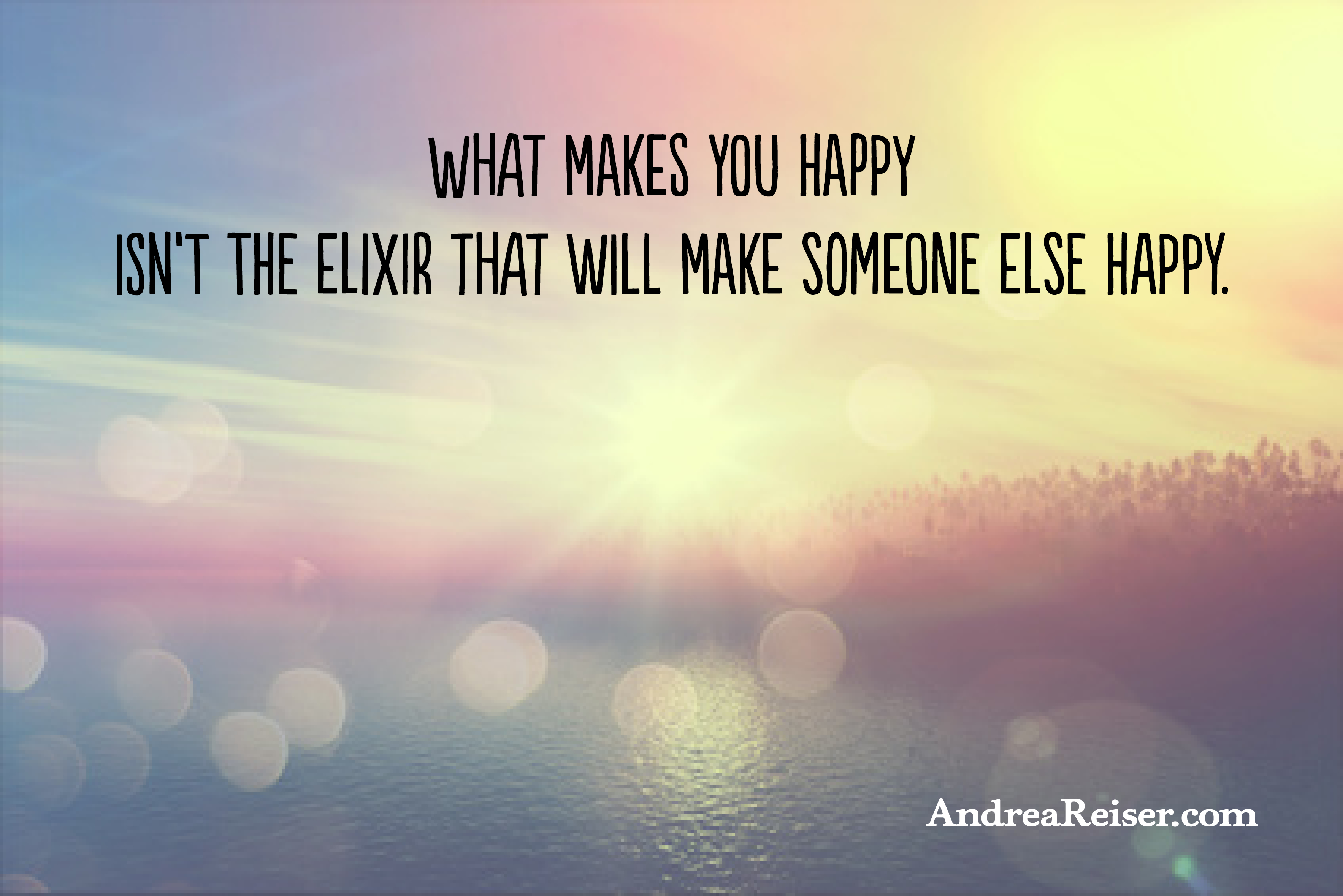 What Makes You Happy Isn't the Elixir That Will Make ...
