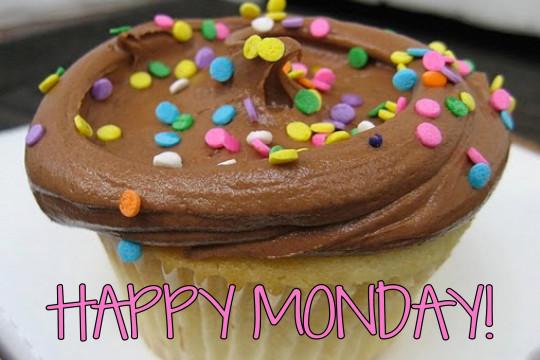 Happy Monday Cupcake