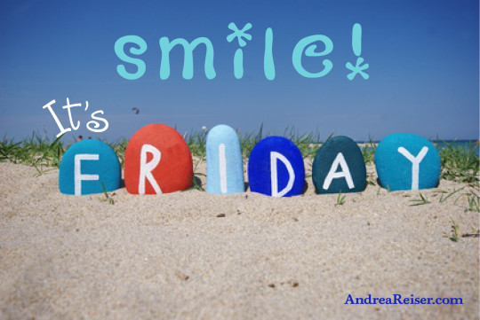 Smile! It's Friday (beach rocks)