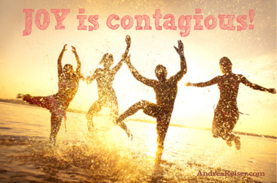 Joy is contagious!