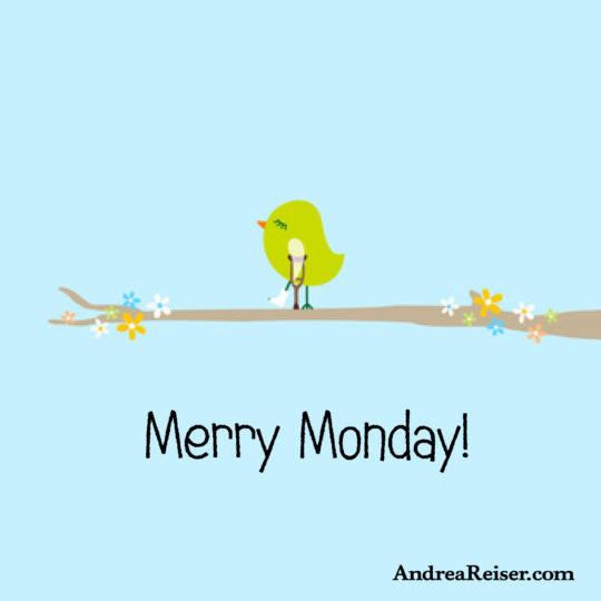 Merry Monday (little birdie)