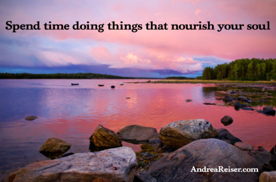 spend-time-doing-things-that-nourish-your-soul